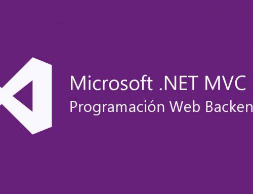 Programación web backend .NET MVC5